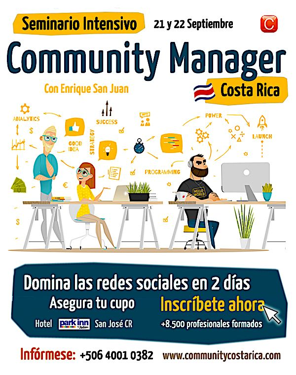 01 Community Manager Costa Rica Community Internet con Enrique San Juan.600