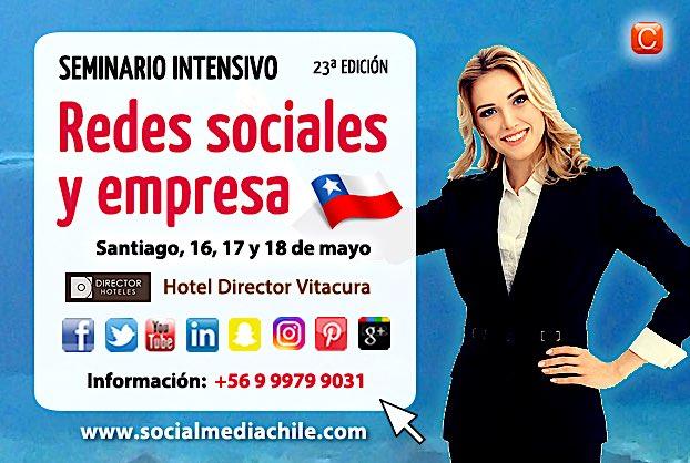 seminario redes sociales y empresa community internet enrique san juan chile