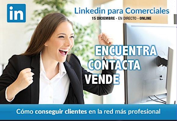 Linkedin comercial con enrique san juan