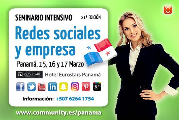 Seminario Redes Sociales y Empresa Panama marzo 2017