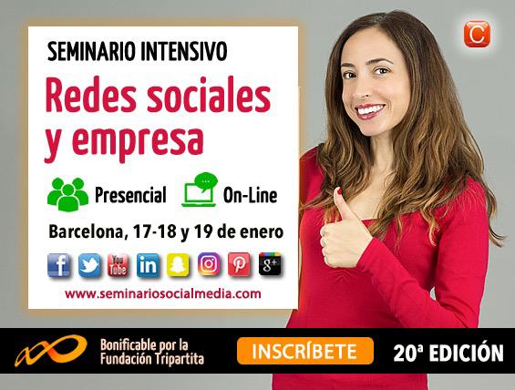 seminario Redes Sociales y Empresa community internet 2017
