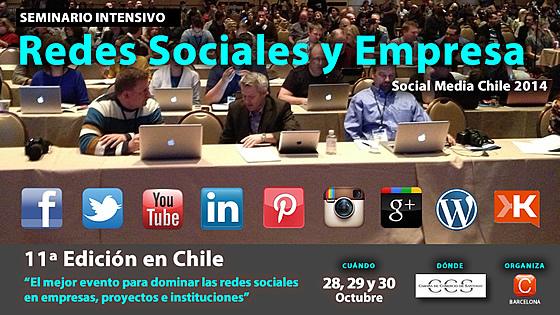 seminario redes sociales empresa chile