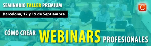 Cómo hacer webinars profesionales seminario taller premium ENrique San Juan Community Internet