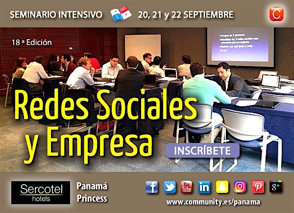 seminario redes sociales y empresa panama community internet enrique san juan