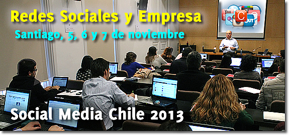 Seminario Redes Sociales y Empresa - Enrique San Juan - Chile Social Media Curso
