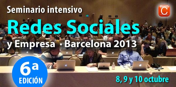Seminario Redes Sociales y Empresa Barcelona - Enrique San Juan Community Internet - Social Media curso intensivo