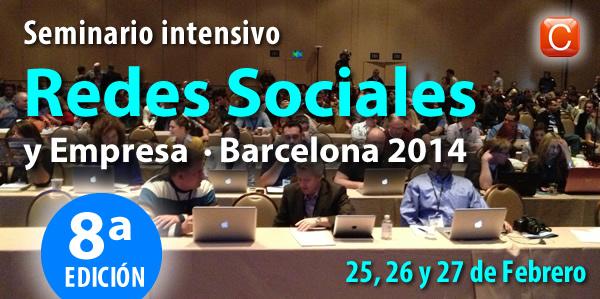 Seminario Redes Sociales y Empresa Barcelona Enrique San Juan