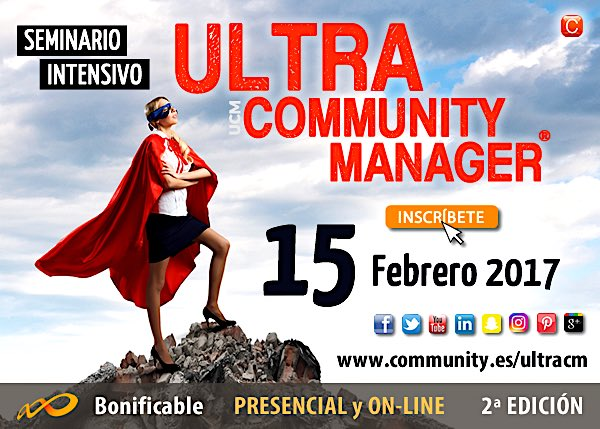 Ultra Community Manager - Seminario intensivo con enrique san juan