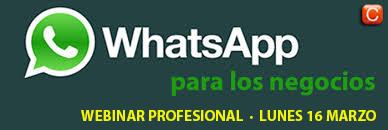 webinar WhatsApp para los negocios community internet