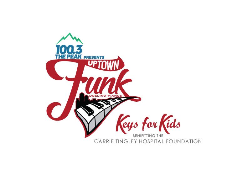 Uptown Funk - Keys for Kids Logo