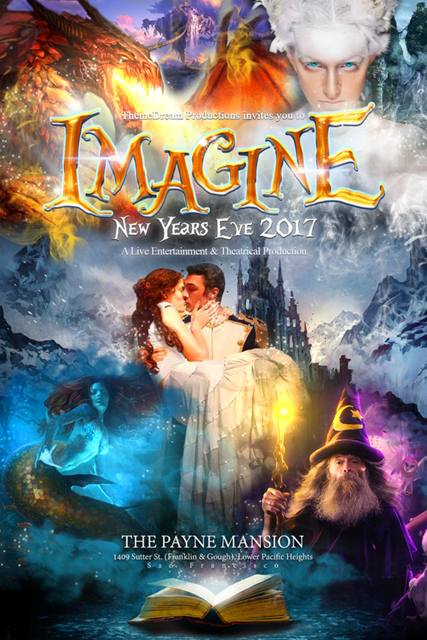 IMAGINE: New Year's Eve 2017 Poster
