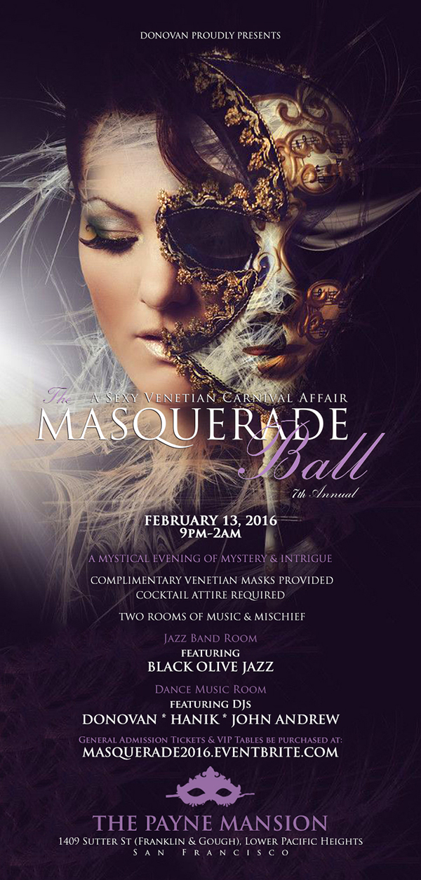 Poster- The Masquerade Ball 2016