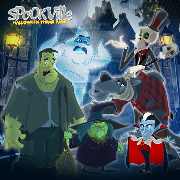 Spookville - Cast of Characters