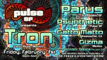 PULSE: Into the Machine w/ TRON, PARUS, PSYNTHETIC, GATTO...