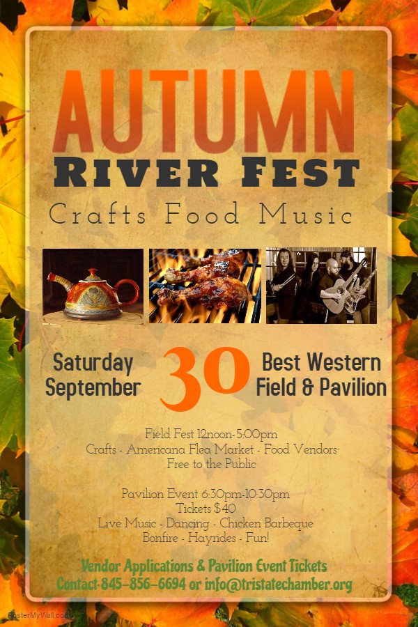 AUTUMN RIVER FEST - September 30, 2017