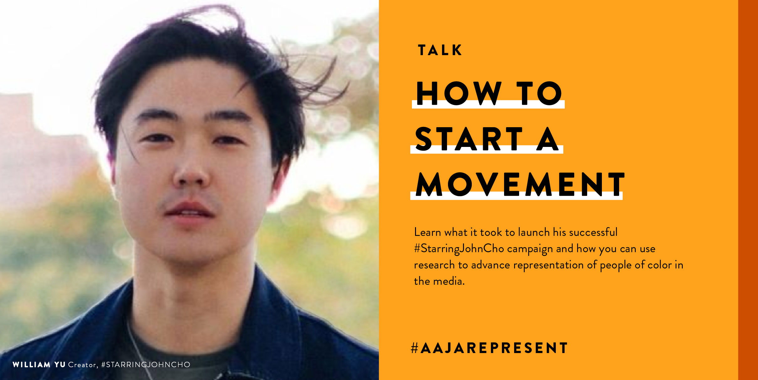 AAJARepresent: How to Start a Movement