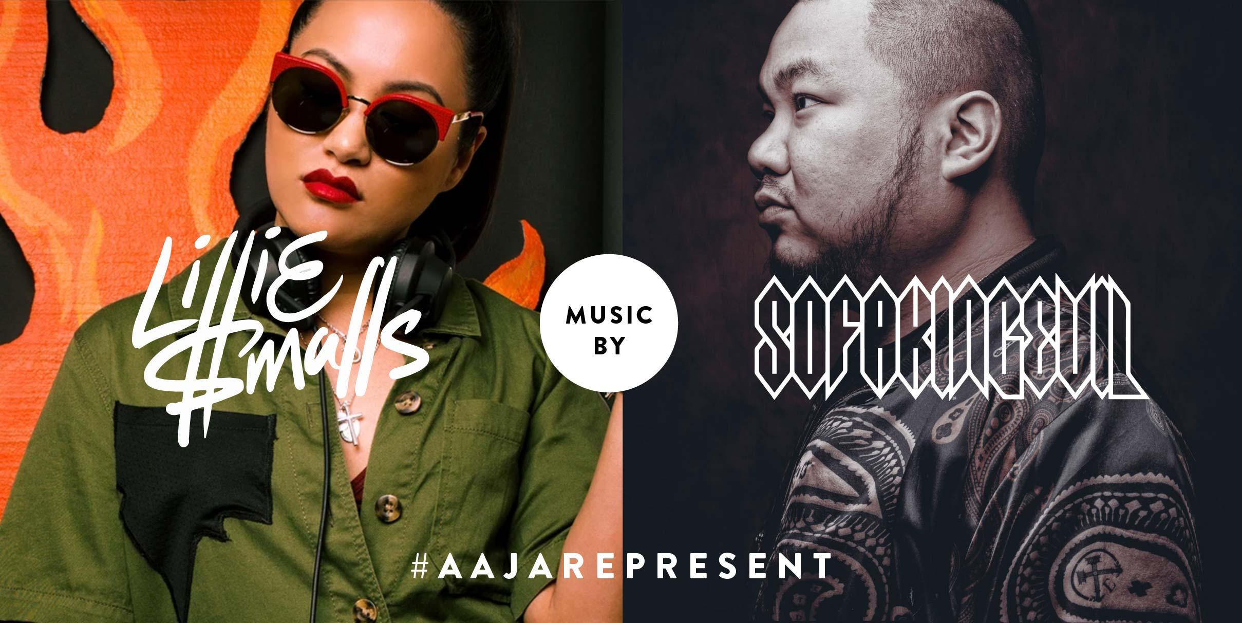 AAJARepresent Entertainment: DJ LillieSmalls and DJ Sofa King Evil