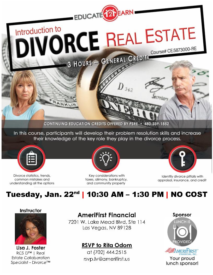 Divorce RE flyer