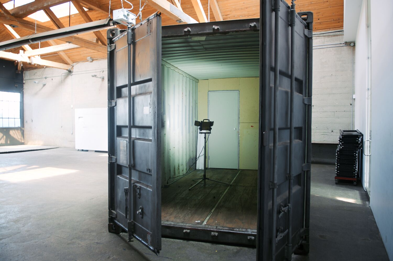 Shipping Container Photo Booth