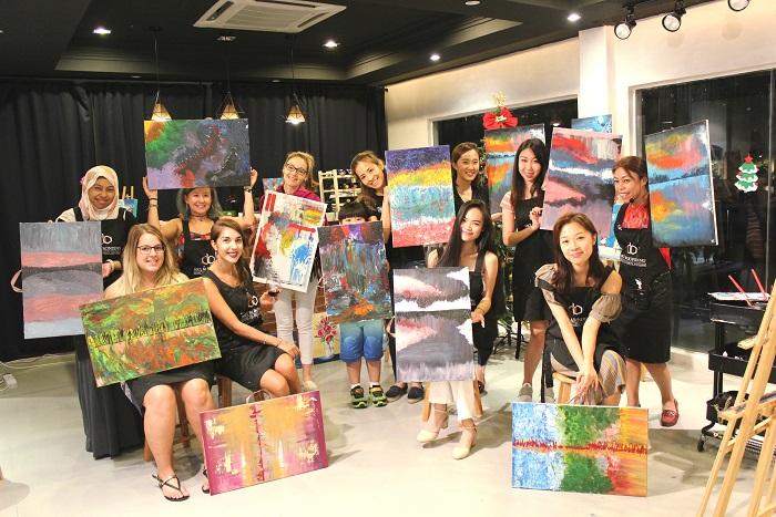 abstract art class kl-artandbonding