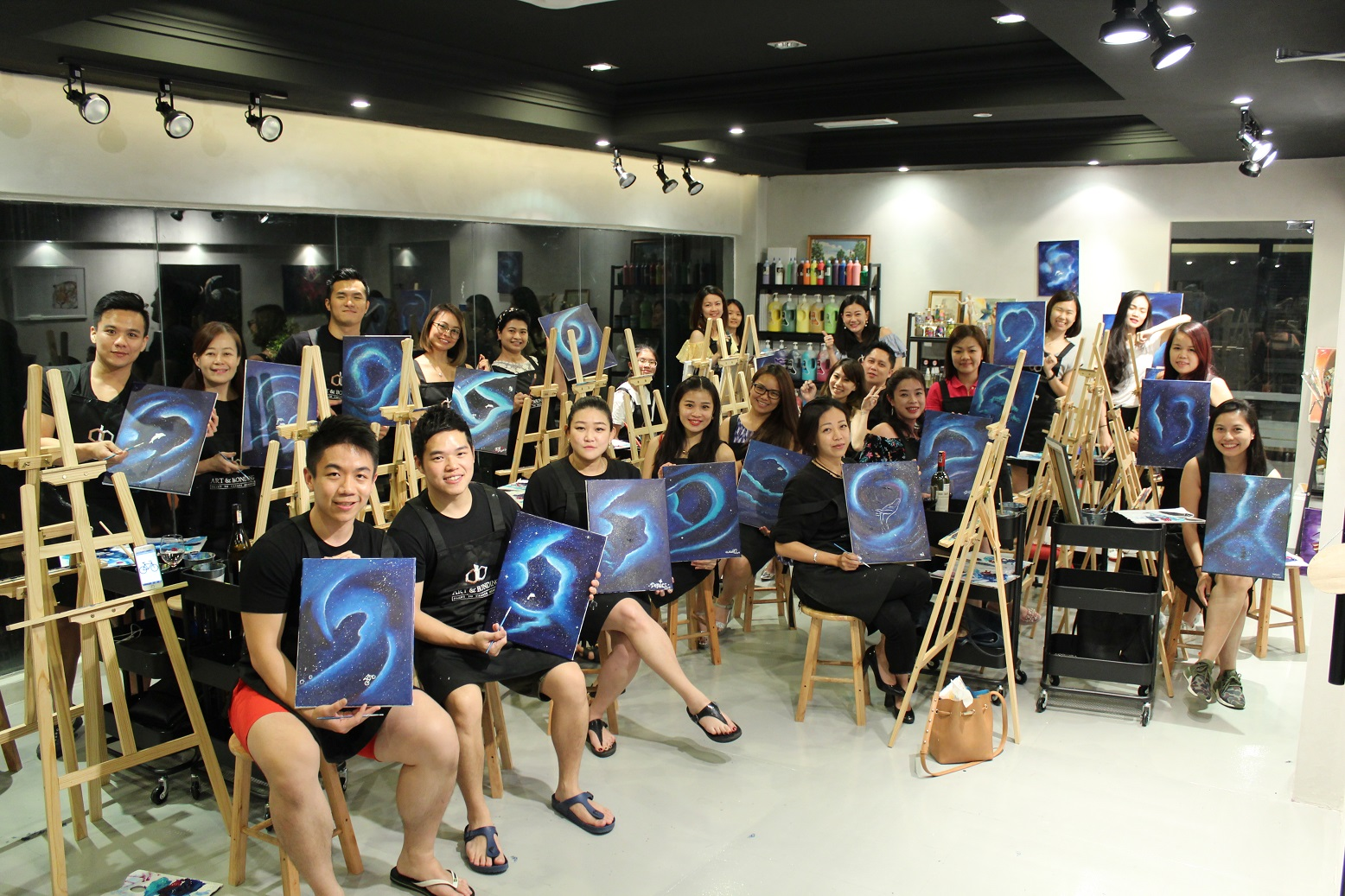 wine and paint malaysia