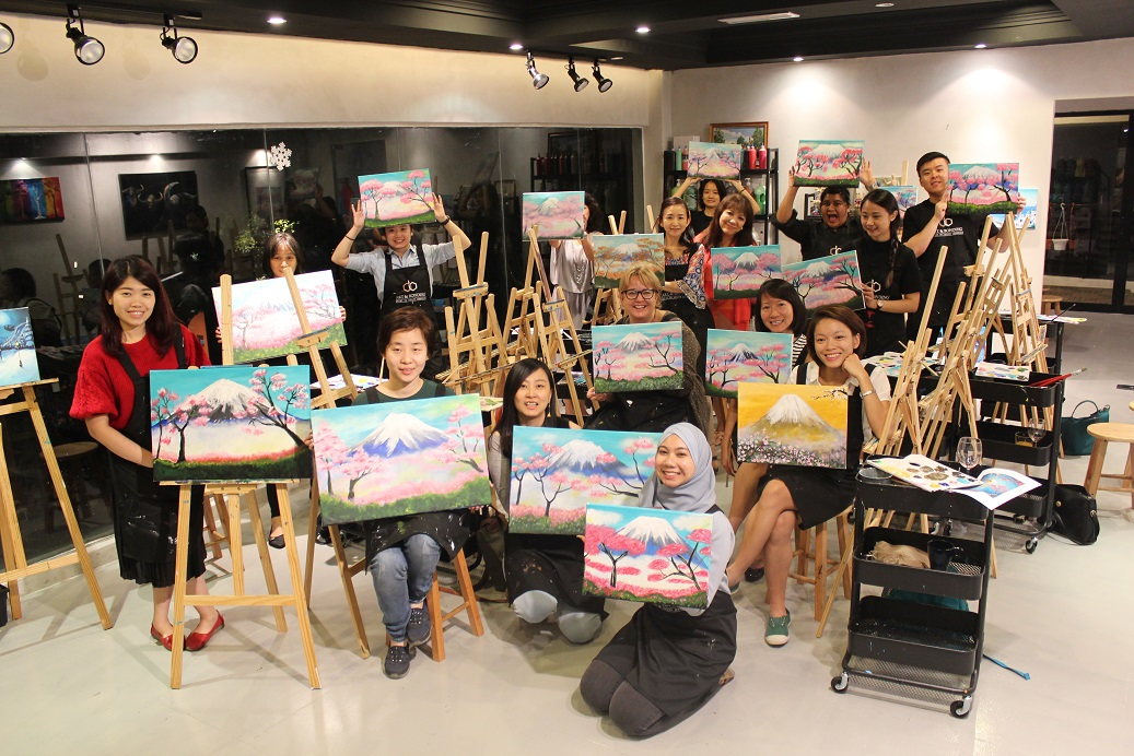 painting class kuala lumpur-artandbonding