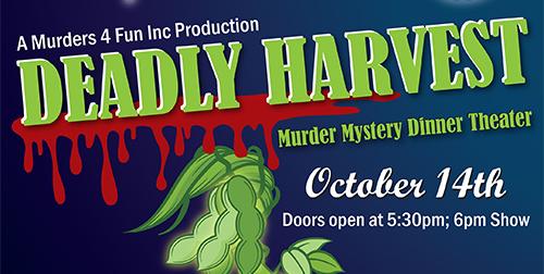Deadly Harvest Murder Mystery Dinner Theater