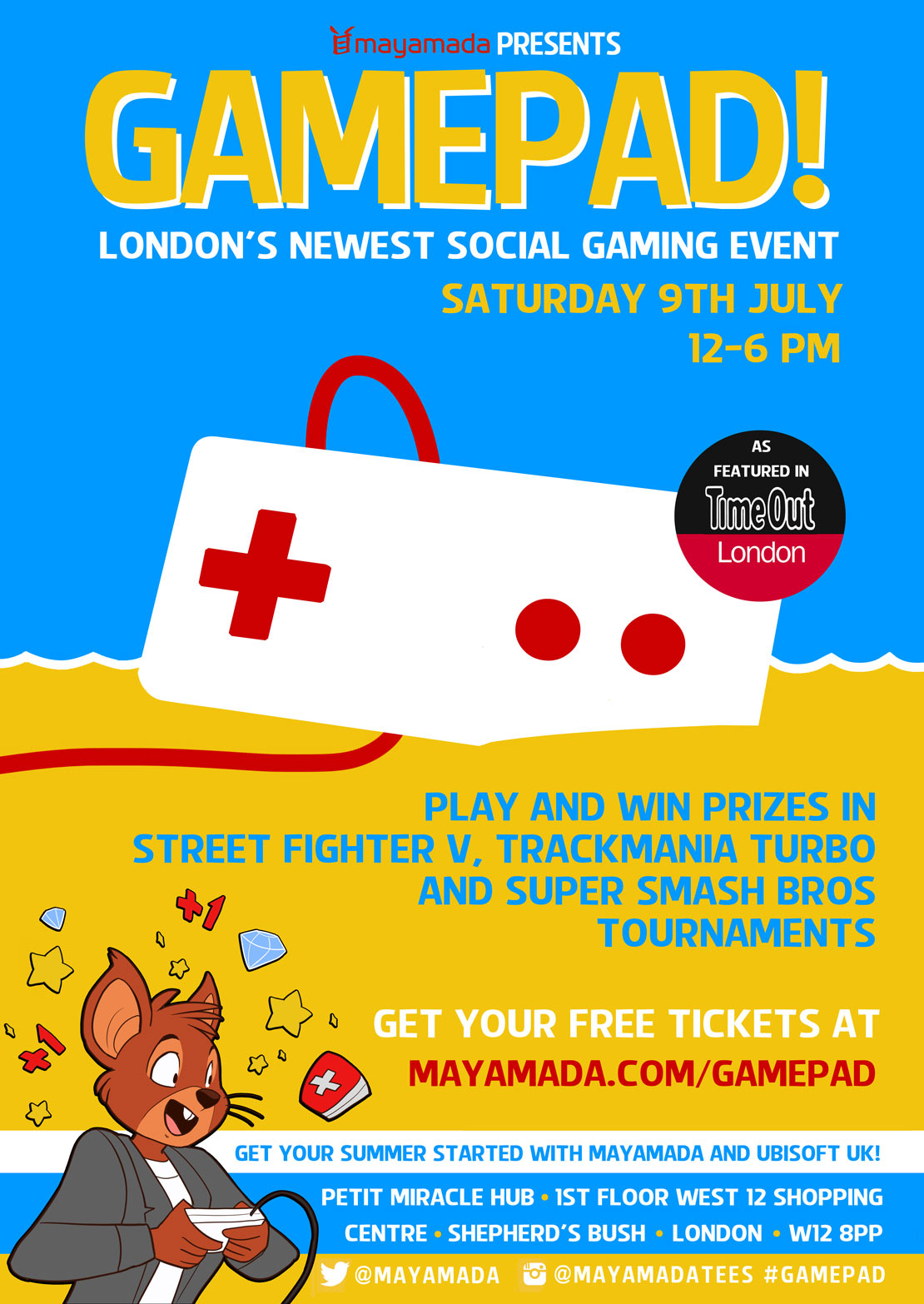 GamePad Summer Edition - mayamada