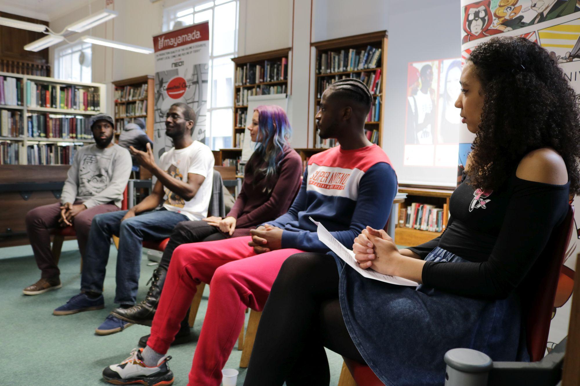 Creative Panel with Taziii and mayamada