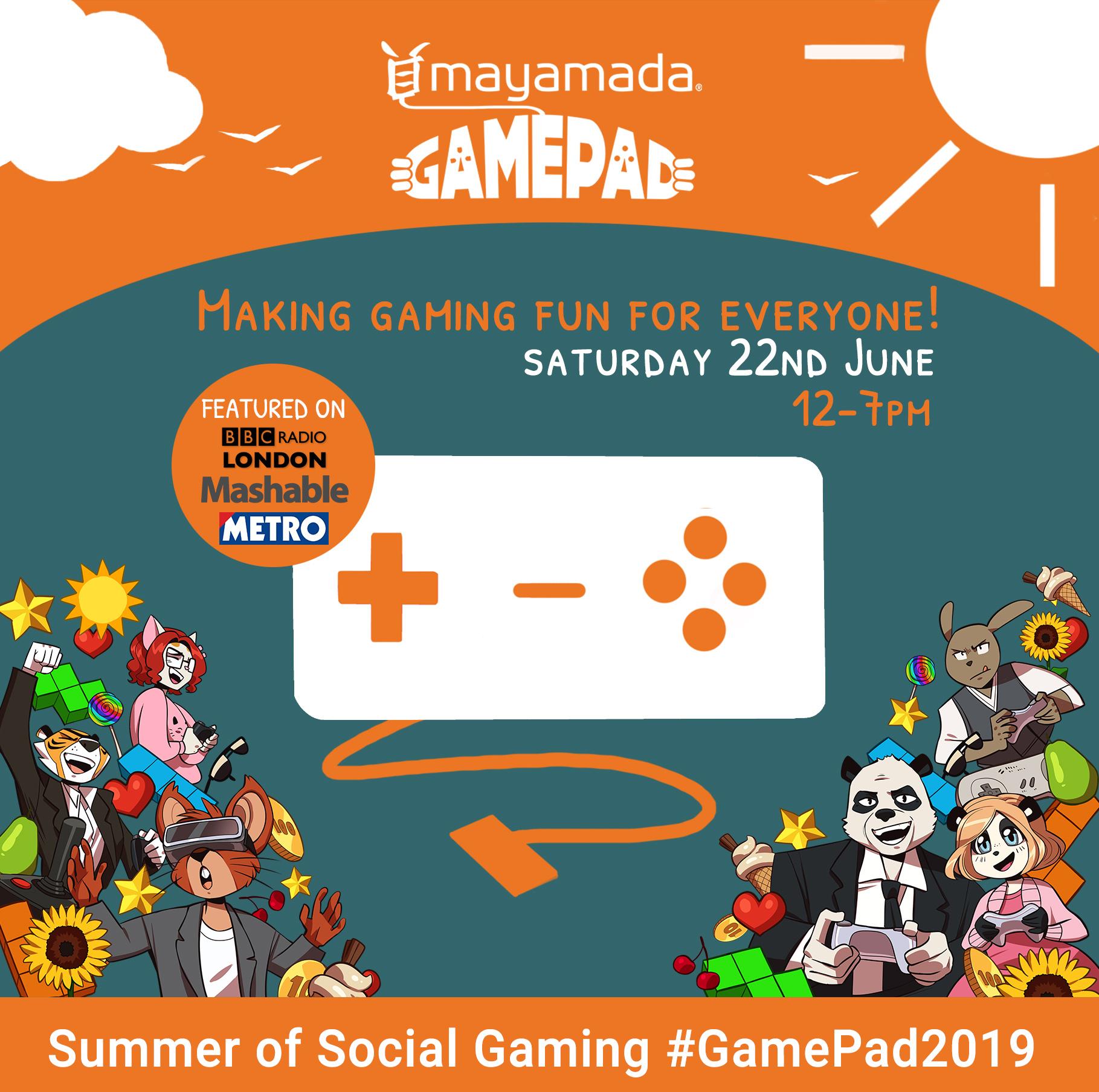 GamePad 2019@ Summer Promo