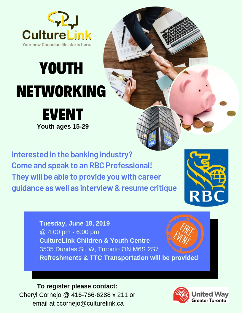 Banking Networking Youth Employment RBC