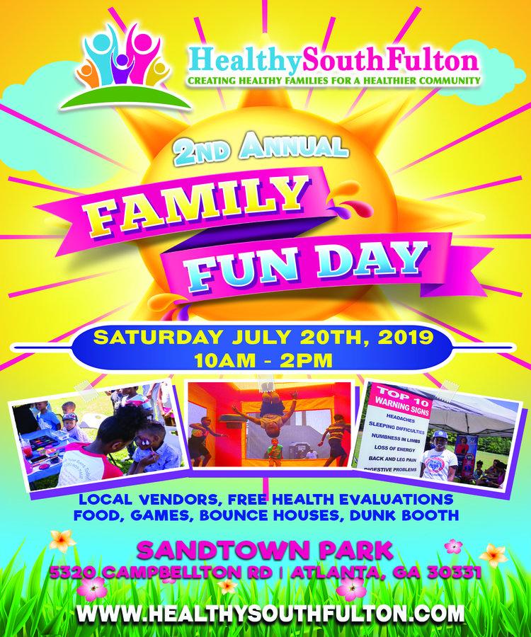 Healthy South Fulton 2019 Family Fun Day