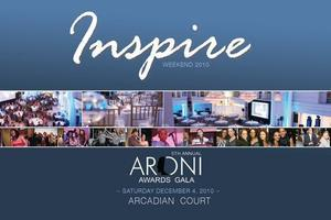 INSPIRE 2013 ~ ARONI AWARDS Gala ~ Saturday May 25