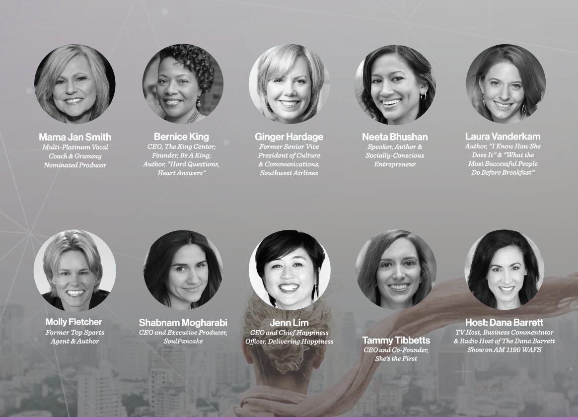 Leadercast Women - Speakers