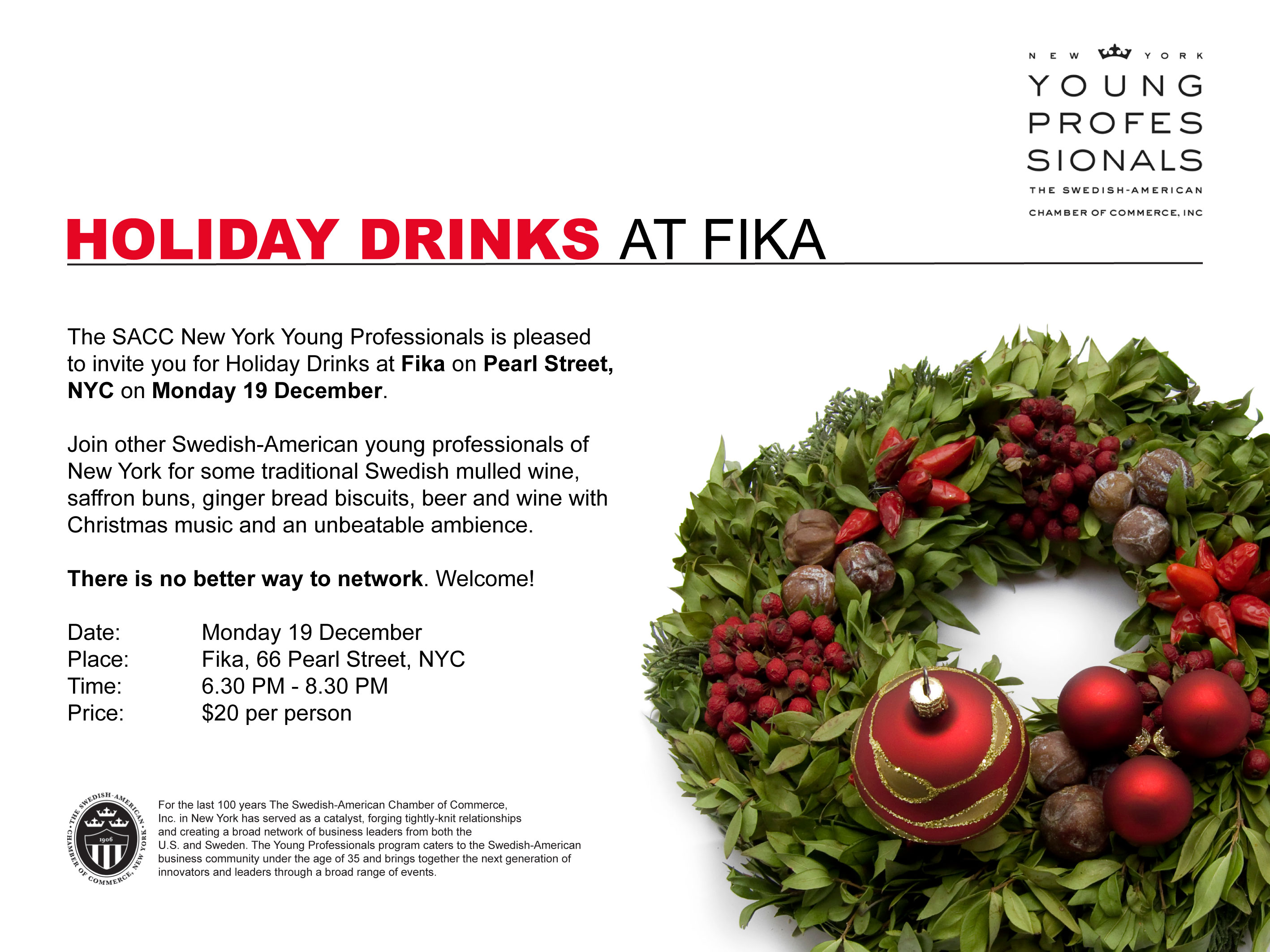 YP Holiday Drinks