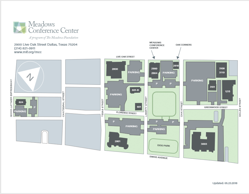 Meadows Conference Center Directions