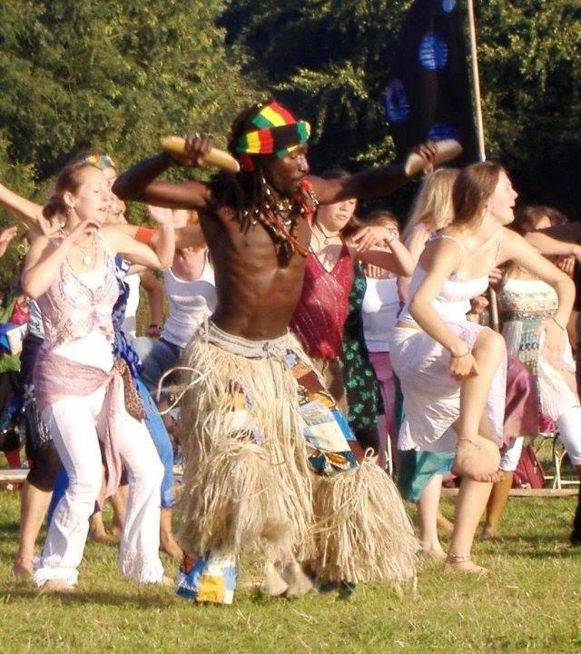 Sens Sagna African dance workshop