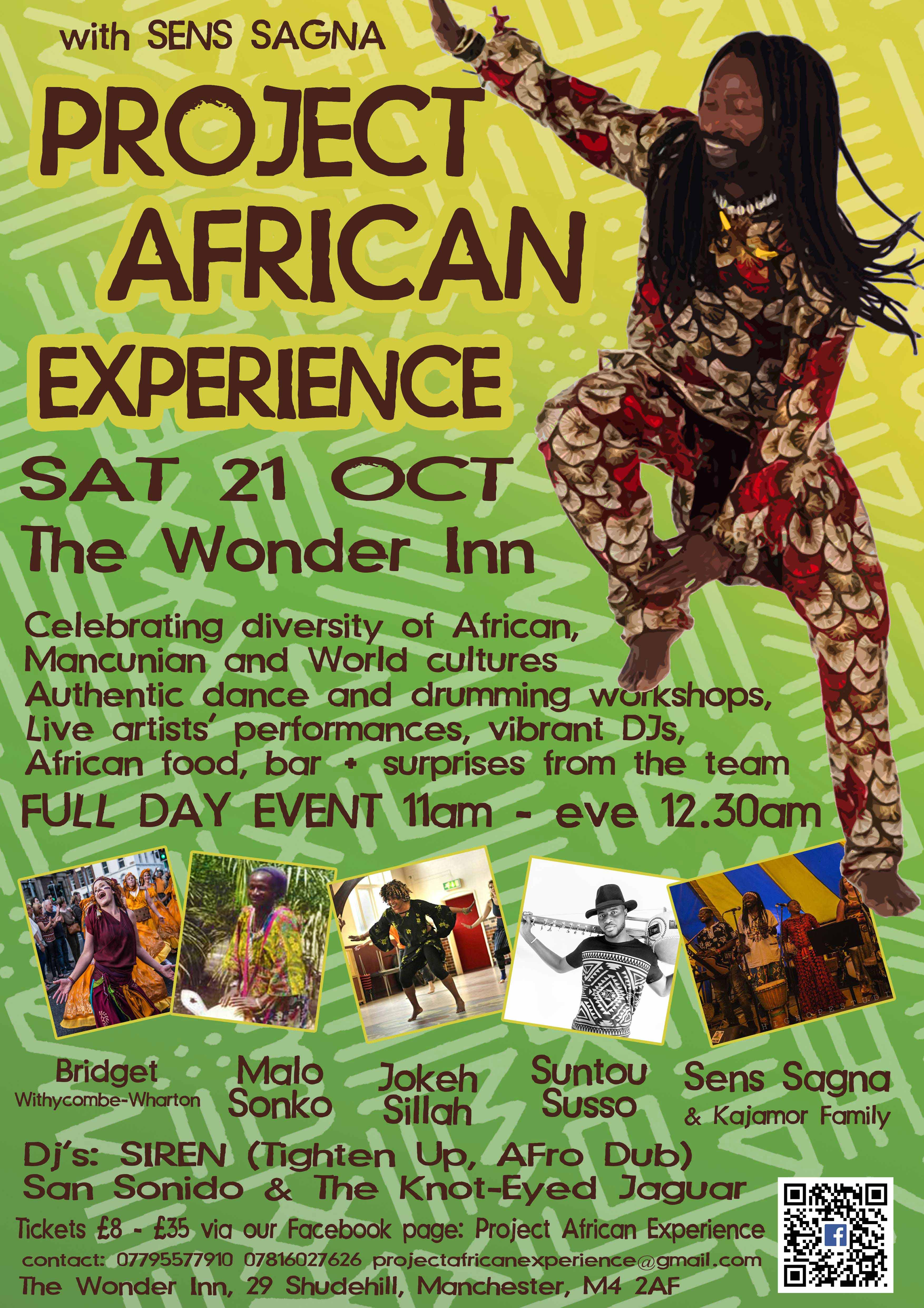 African Experience Manchester 21 Oct 2017