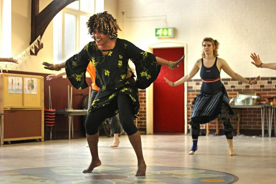 African dance workshop with Jokeh Sillah