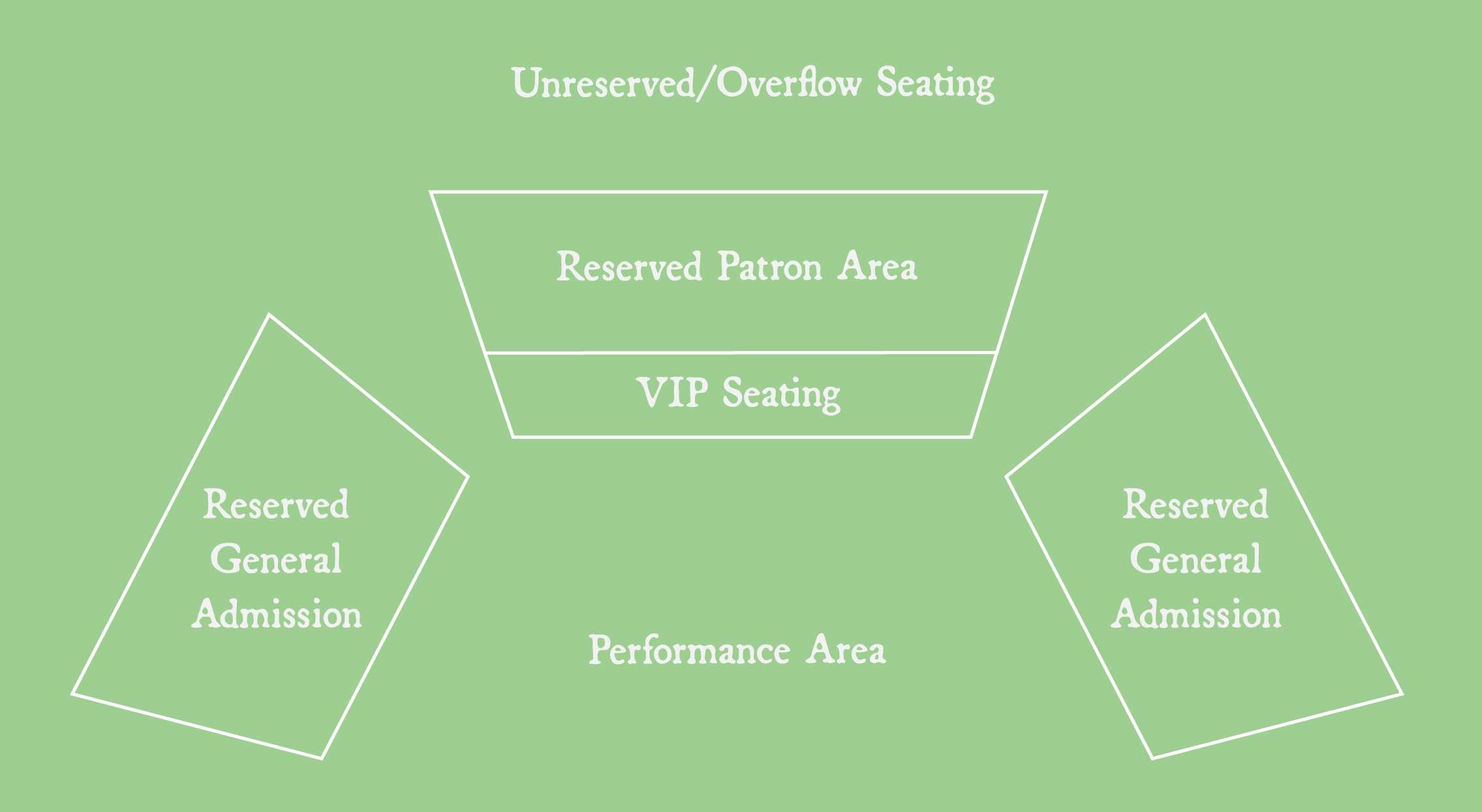 Map of the Seating Area