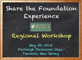 2013 Spring Regional Workshop