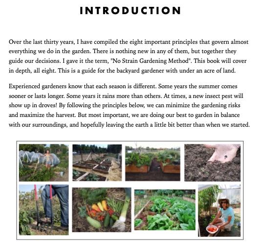 The No Strain Gardening Method Intro