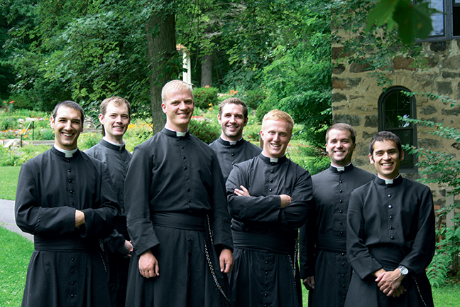 Seminarians of the Canons Regular