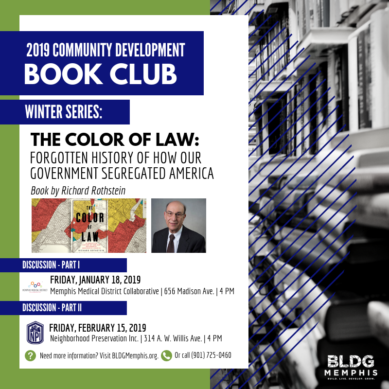 Community Development Book Club Color Of Law Part Ii Tickets Fri
