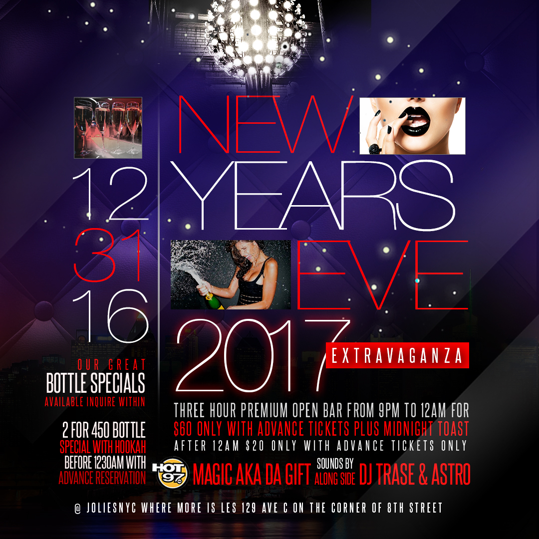 $20 New Years eve party