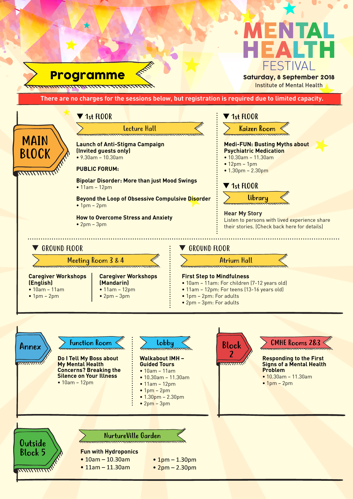 Mental Health Festival Programme 1