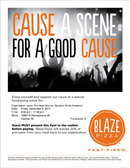 Show this flyer when purchasing your meal!