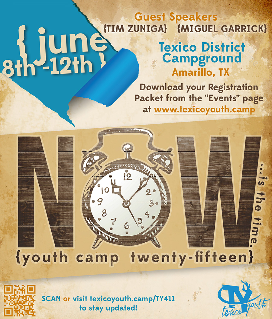 Texico Youth Camp Flyer
