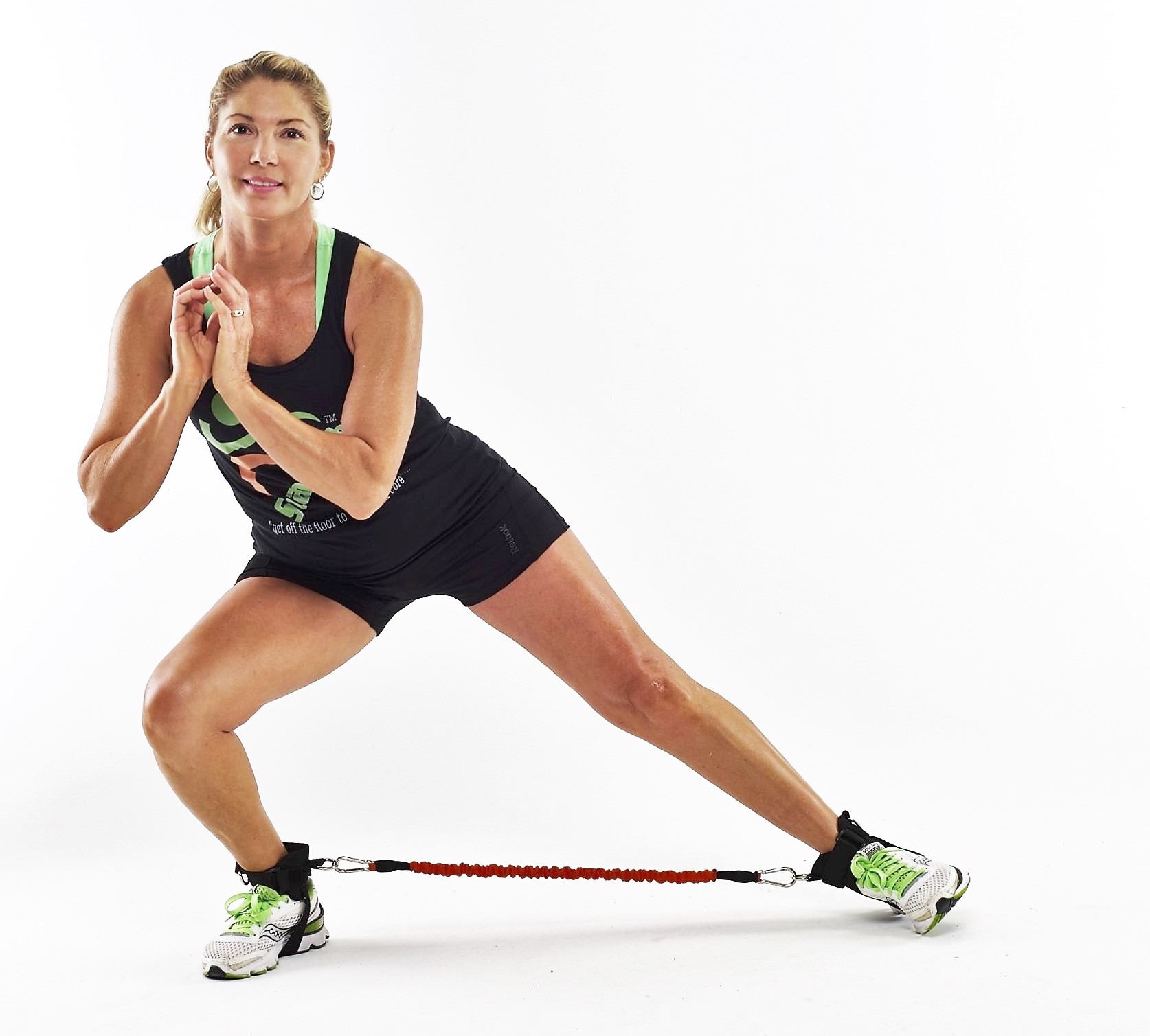 Stand Up Abs Side Lunge
