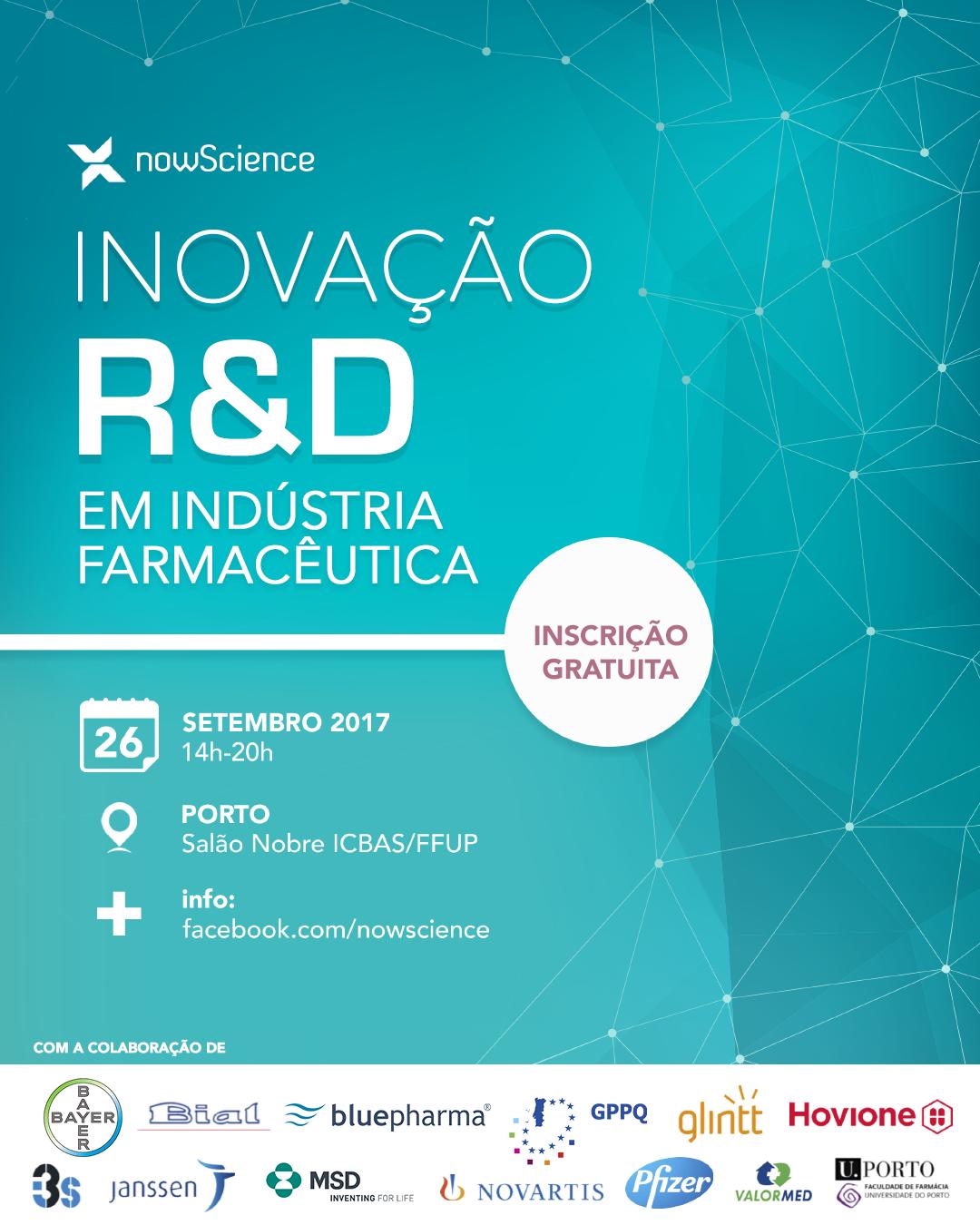Inovação e R&D em Indústria Farmacêutica